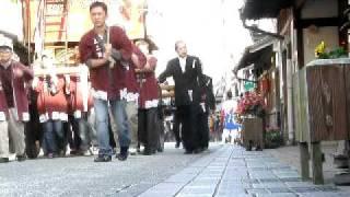 2008 春日神社(篠山市) 秋の例祭 鉾山巡行 河原町 | 丹波新報社 【読者...