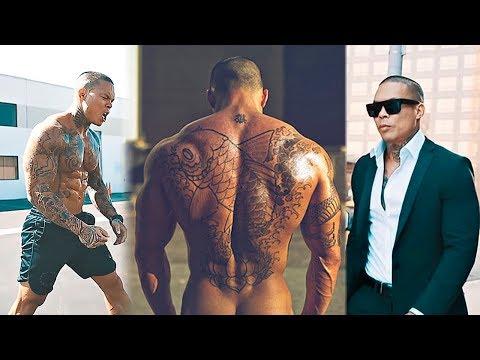 SAMURAI Workout MONSTER! Asian Tattooed Bodybuilder | Motivational Video 2017
