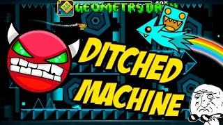 GEOMETRY DASH - (Medium Demon) - 39 - Ditched Machine by Jeyzor