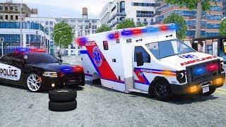 School Bus Repair Tyre - Wheel City Heroes (WCH) - Sergeant Lucas the Police Car New Cartoon