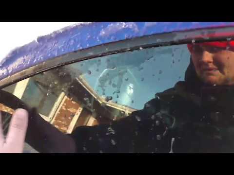How to Unfreeze Frozen car door / Drop down window EASY