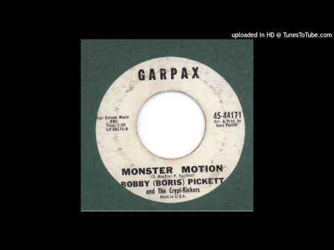 Pickett, Bobby ( Boris ) - Monster Motion - 1962