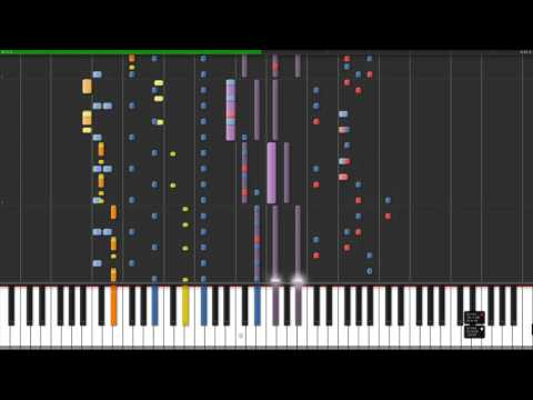 Nokia Ringtone - Swimming v2 (on synthesia)