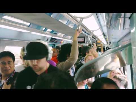 Dubai metrosundaki sürpriz beatbox