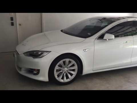 Tesla Model S 75D NEMA 14-50 Outlet Example