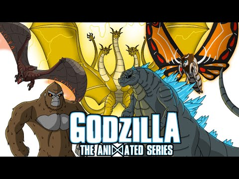 GODZILLA: ANIMATED | Characters & Theme Song (Fan Made)