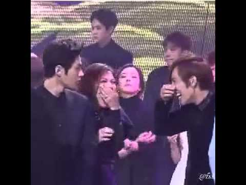 Ailee and Infinite (dongwoo & L) INTERACTION - YouTube | 480 x 360 jpeg 15kB