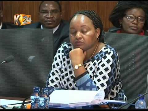 Waiguru denies key suspect  Josephine Kabura before PAC