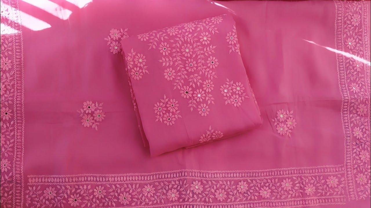 Download Hand embroidery|Fulkari dress in Bangladesh|phulkari suit|پھلکاری سوٹ|হাতের কাজের জামার ডিজাইন