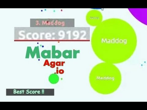 Agar.io Top Score 9k+ With Google Hangouts Thanks Team :) + Live Streaming