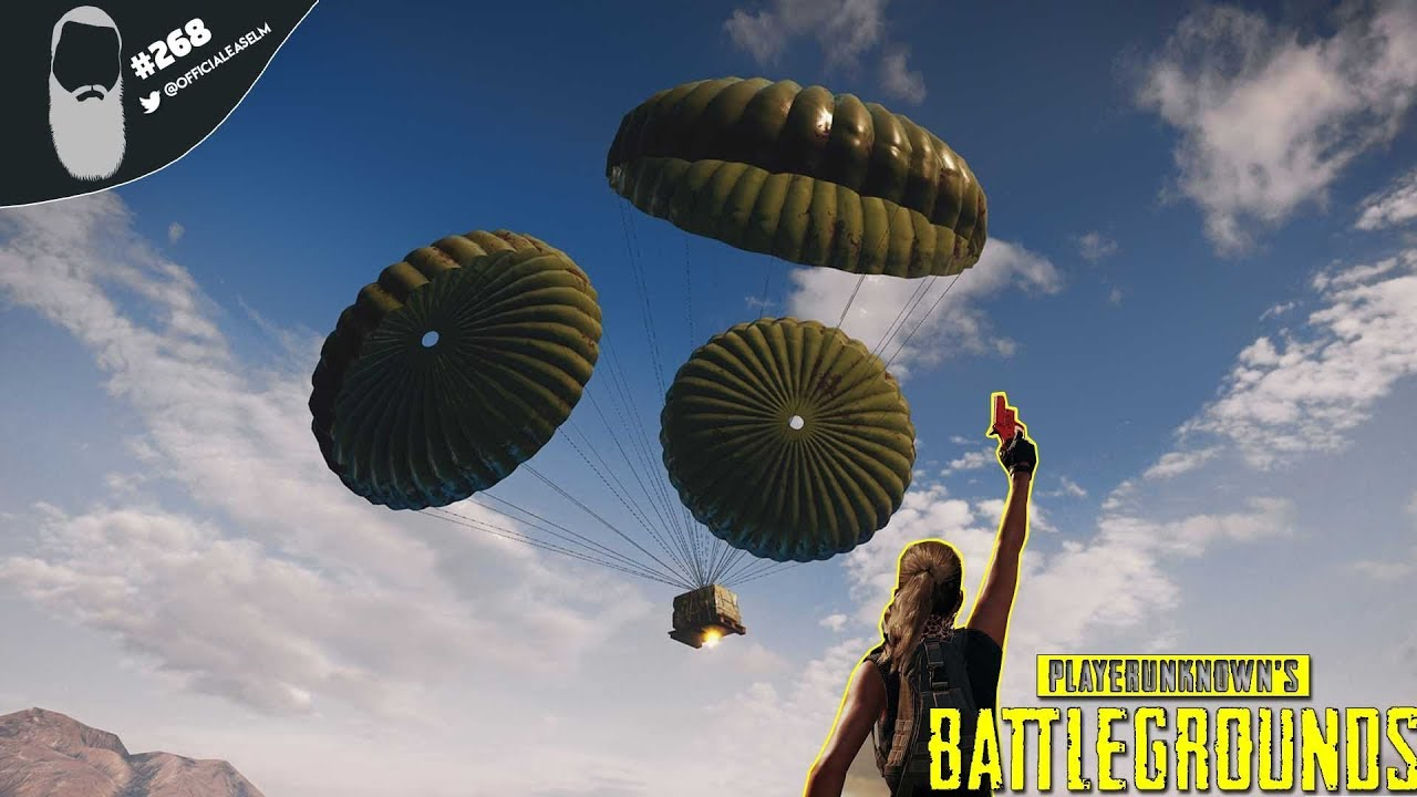 Pubg Announces Flare Gun For Event Mode: PUBG #268 PC Gameplay Live Stream