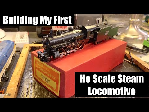 Building My First Ho Scale Steam Locomotive – Roundhouse 2-8-0