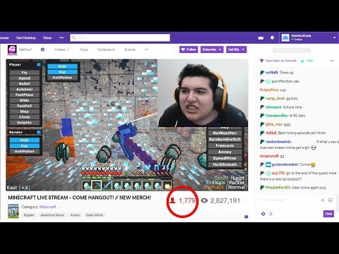 I Caught This Twitch Streamer HACKING AGAIN On My Minecraft Server LIVE..