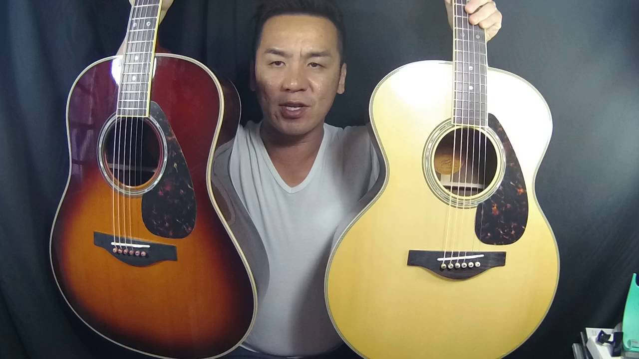 2015 yamaha lj16 against ll16 are guitar shootout youtube. Black Bedroom Furniture Sets. Home Design Ideas