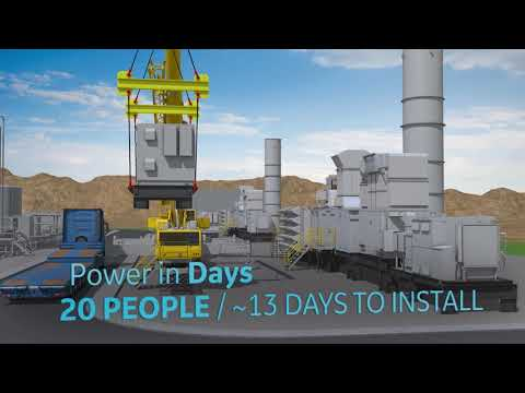 LM2500XPRESS: Modularity, Fast Installation, And Enhanced Flexibility | GE Power