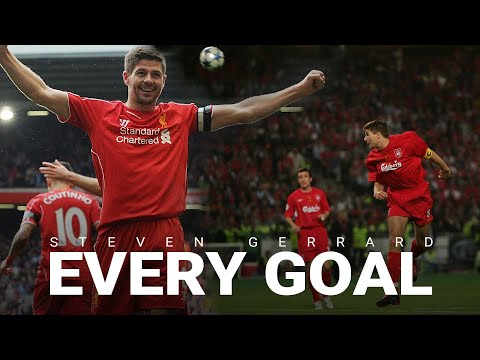 Every Steven Gerrard Goal | Cup Final screamers, Istanbul