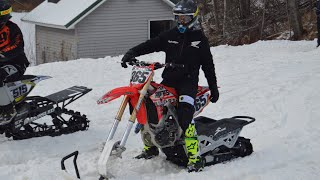 Snowbikes With Santa - Day 4 - Race Day!   365 Vlogs w/ Brett Cue - 072