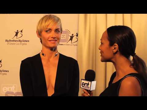 Amber Valletta at the Big Brother Big Sister Spring Luncheon