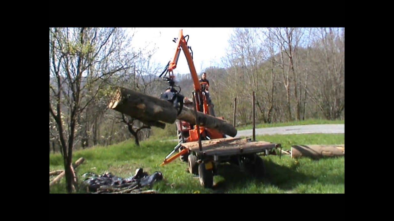 Agri Sav Caricatore Forestale P A S 800 Youtube