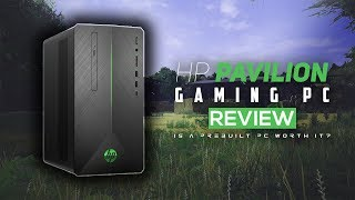 Is A $500 Prebuilt Gaming PC Worth It In 2019? - HP Pavilion Gaming Desktop Review!