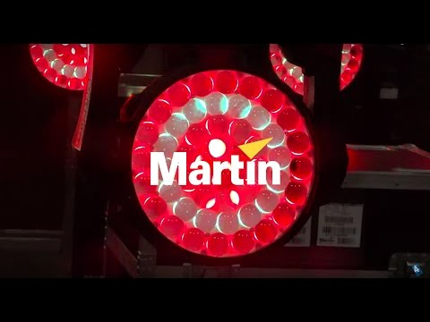 Demo: Martin MAC Quantum Wash