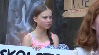 Baixar Greta Thunberg feels uncomfortable at arrival in New York. #fridaysforfuture #gretathunberg #nyc