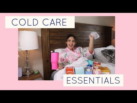 cold-care-essentials:-must-haves-when-you-are-feeling-sick-♡