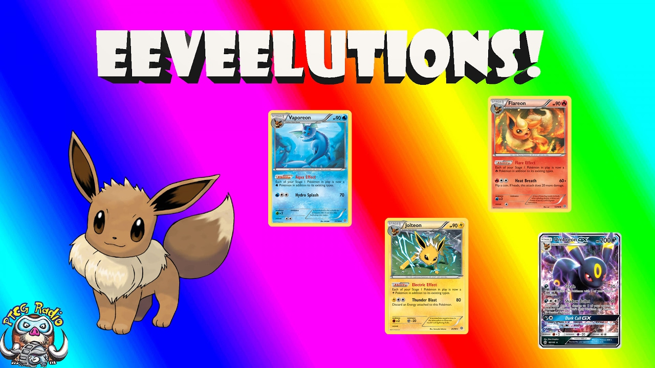 All Eevee Evolutions Cards