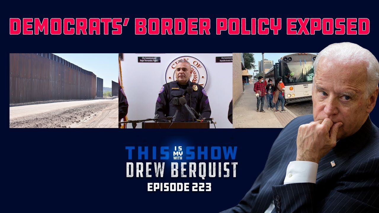 TX Police Dept. Exposes Democrat Border Policy In Press Conf, COVID Pouring Over Border   Ep 223