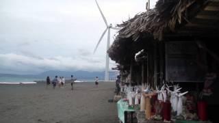 Beach Souvenir Shop at Bangui Wind Farm