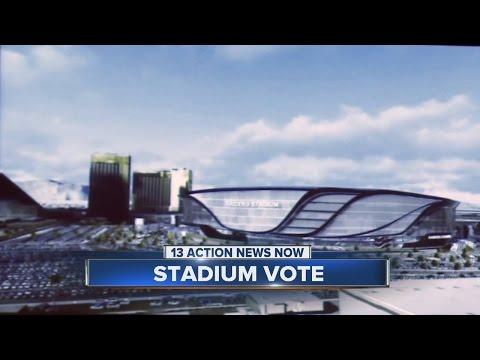 Nevada Senate votes to approve stadium deal