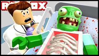 Escape The Zombie Hospital | Roblox