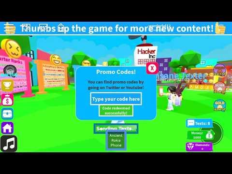 Video Roblox Texting Simulator Codes - video de hack de roblox