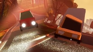 HELLO NEIGHBOR BETA 3 | Player Hit by Car and Truck