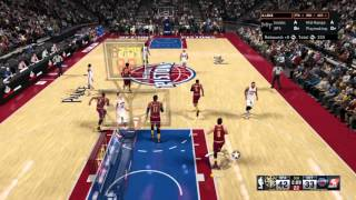 NBA 2K16 andrew wiggins circus shot