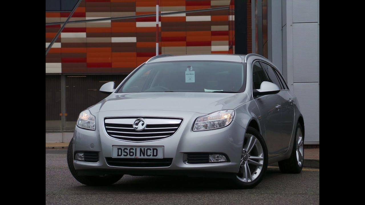 2011 Vauxhall INSIGNIA 2.0 CDTI 160PS SRI SPORTS TOURER ESTATE IIN SILVER