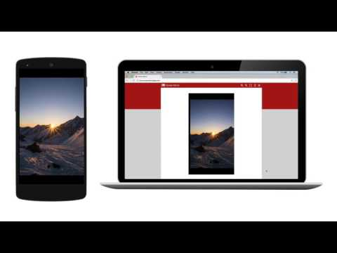 Android Screen Mirroring - Screen sharing via WiFi