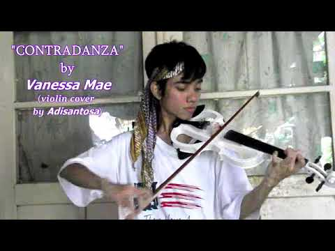 Vanessa Mae - Contradanza (violin cover by Adisantosa) [only raw video] mp3