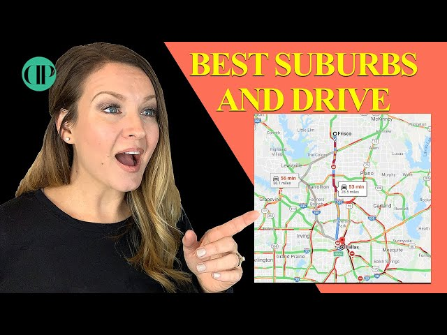 Best Dallas Suburbs and Traffic