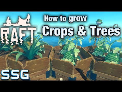RAFT How to grow Crops & Trees