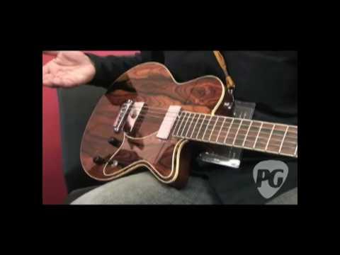 Montreal Guitar Show '09 - Yanuziello Stringed Instruments