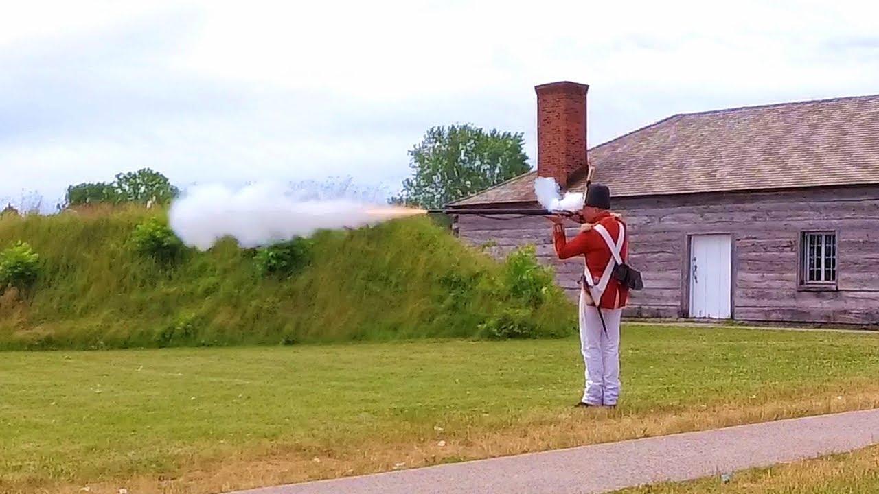 Musket Demonstration at Fort Niagara