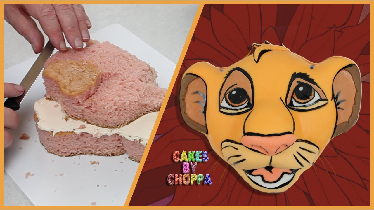 Pumba Cake: Disneys The Lion King (How To) - YouTube
