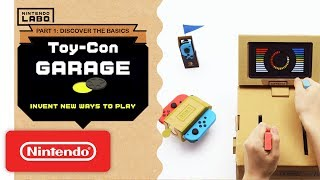 Download Nintendo Labo - Invent New Ways To Play With Toy-Con Garage - Part 1 Mp3 and Videos