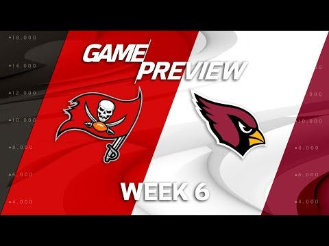 Tampa Bay Buccaneers vs. Arizona Cardinals | Week 6 Game Preview | NFL Playbook
