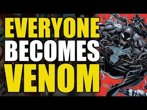 Everyone Becomes Venom Marvel Comics: Venomverse