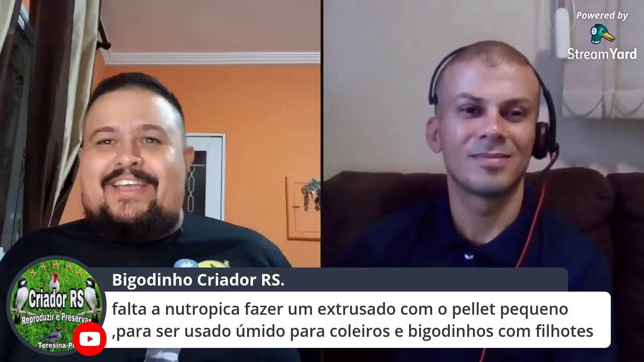 Live com o Sr. Adriano - Criatório Tropa de Elite