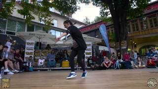 Break the Floor Slovenia - // Bgirl Battle // Semi Final 2// 2017