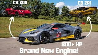 2020 Corvette  C8 Z06 & ZR1 Will Get New Engines! *Mid Engine Corvette*