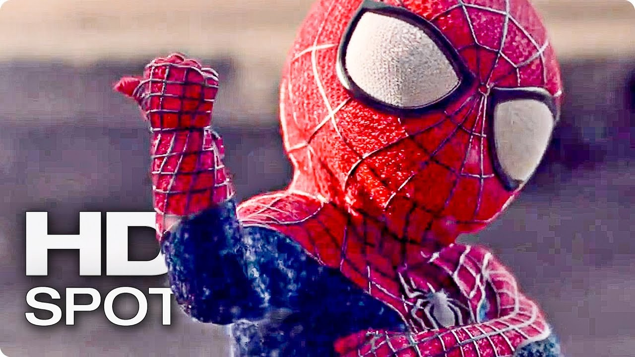 The Amazing Spider Man Baby Dance Official Evian Spot 2014